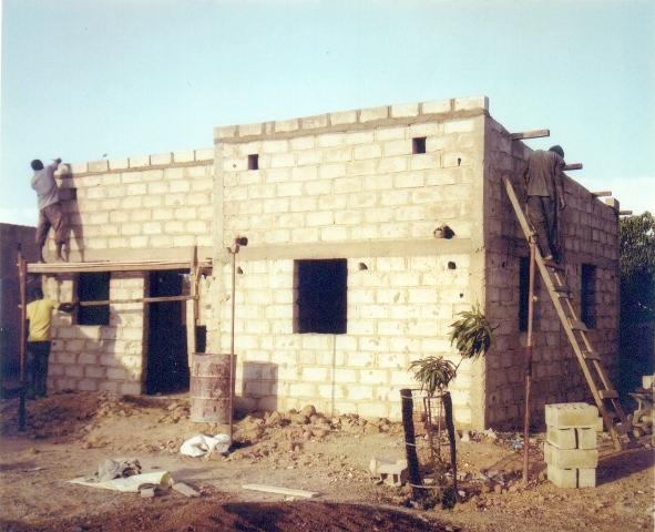Photo construction en dur du secrétariat